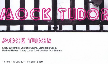 Mock Tudor invite